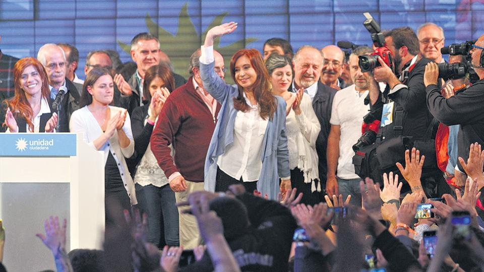"""""""Hemos enfrentado a las más enorme concentración de poder desde la restauración de la democracia"""", dijo CFK."""