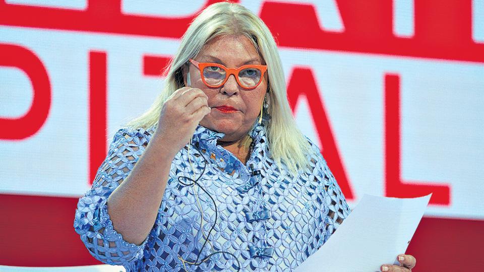 """Elisa Carrió durante el debate del miércoles sostuvo que """"el Gobierno no tuvo nada que ver"""" con el caso."""