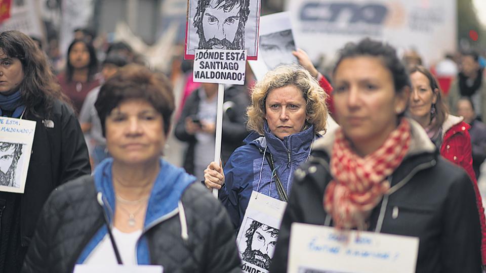 La desaparición de Santiago Maldonado provocó una reacción social que trascendió las dicotomías.