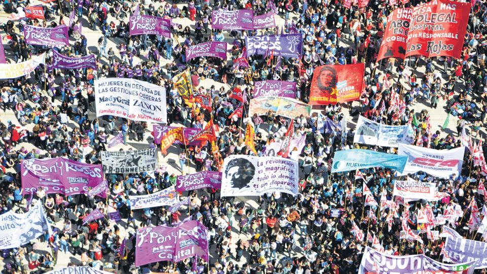 El año pasado, la marcha de apertura desbordó las calles de Rosario.