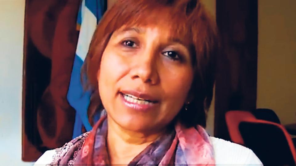 Clelia Avila, ex diputada provincial radical, referente antiderechos y de Cambiemos.