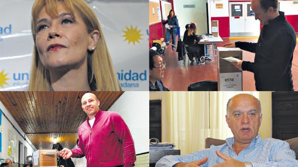 Verónica Magario, de La Matanza, Martín Insaurralde, de Lomas de Zamora, Martiniano Molina, de Quilmes, Néstor Grindetti, de Lanús.