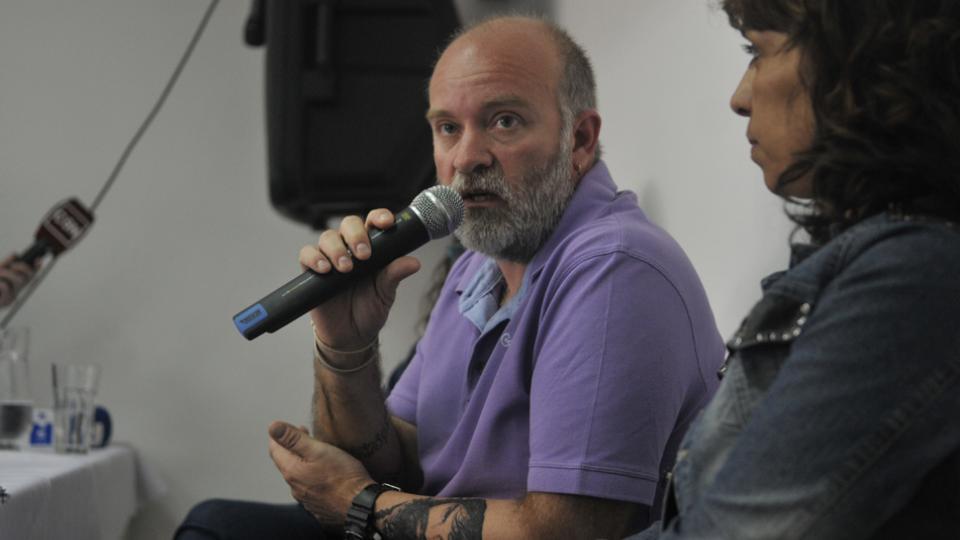 Sergio Maldonado, durante la conferencia de prensa.
