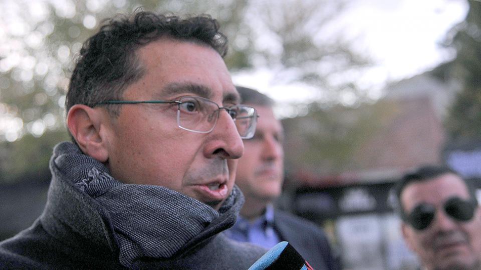 """El juez Gustavo Lleral dijo que saber las causas de la muerte de Santiago Maldonado va a """"llevar un tiempo""""."""