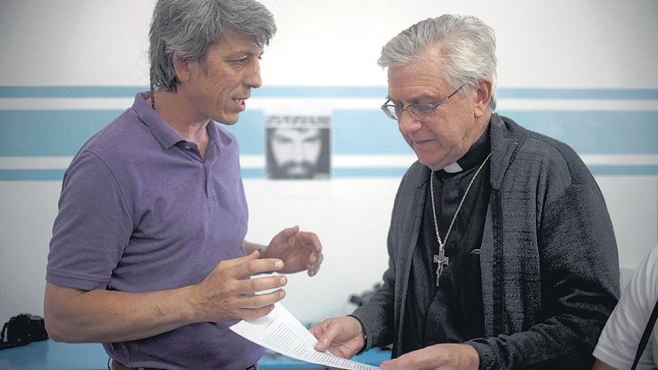 """""""No conozco la existencia de la RAM"""", insistió el obispo Chaparro."""