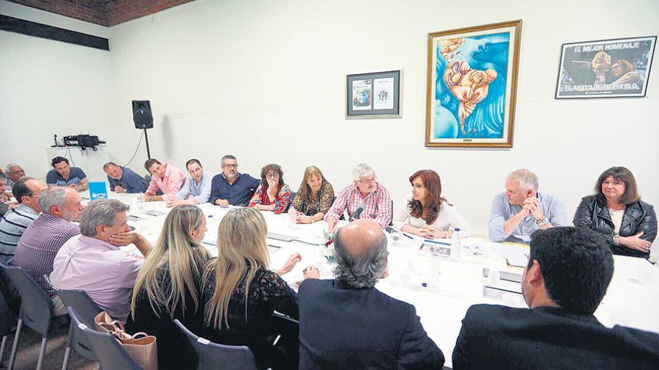 Los referentes del Movimiento Obrero Santafesino recibieron la semana pasada a CFK.