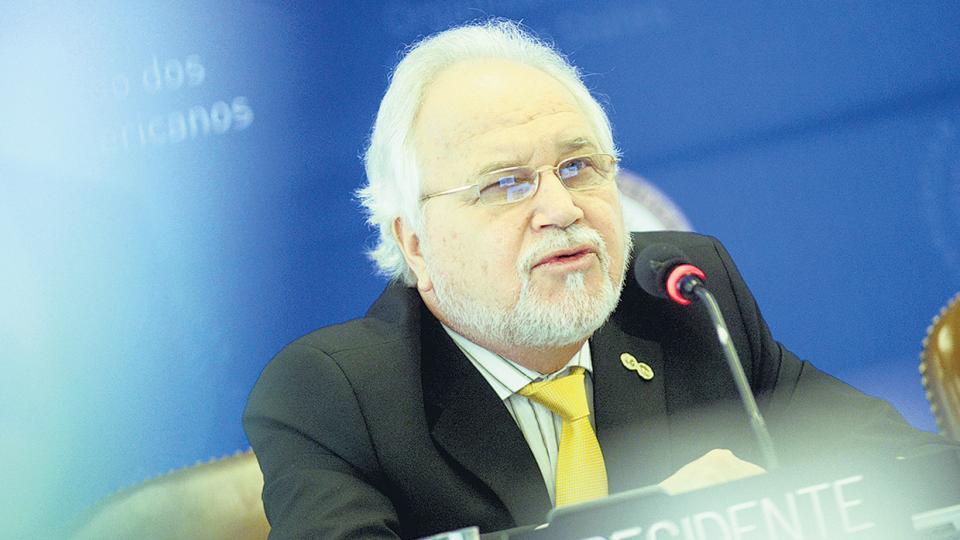 Francisco Eguiguren, presidente de la Comisión Interamericana de Derechos Humanos.