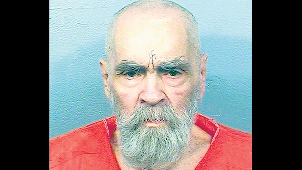 Charles Manson, en una de las últimas fotos tomadas.