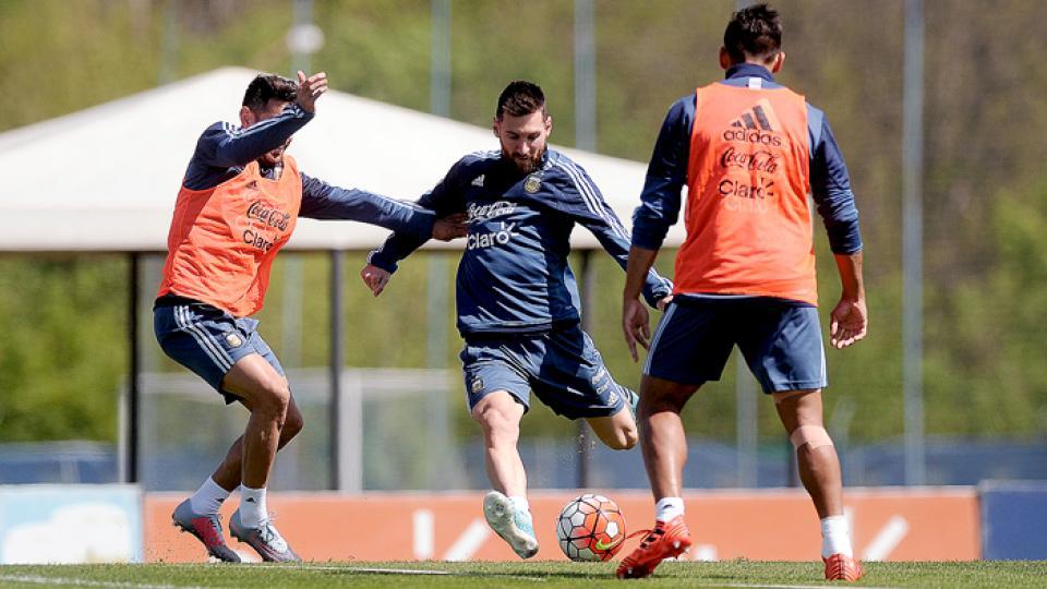 Messi jugará sólo el primer partido de la gira.