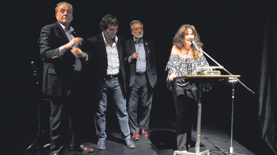 Luisa Kuliok recordó su paso por el Centro Cultural de la Cooperación.