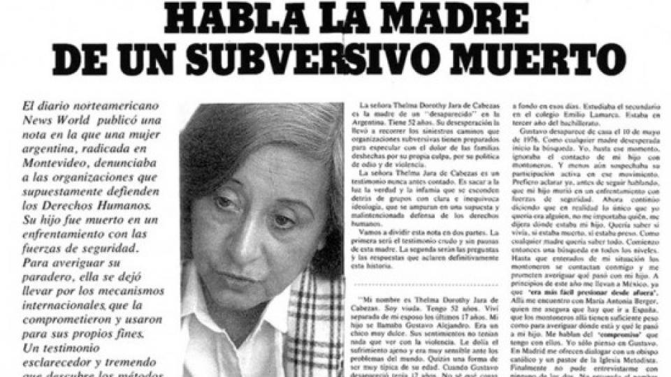 La pata mediática de la dictadura