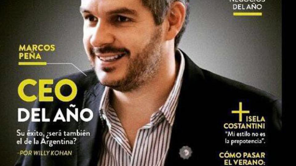 El CEO del año es Marcos Peña, según la revista Forbes