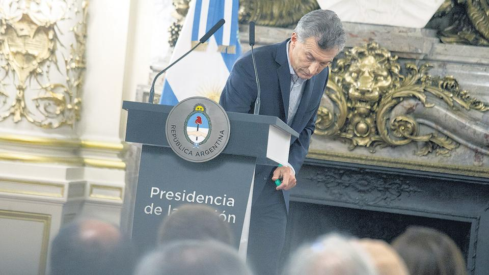 En diciembre se registró la mayor caída de imagen de la gestión de Mauricio Macri hasta ahora.