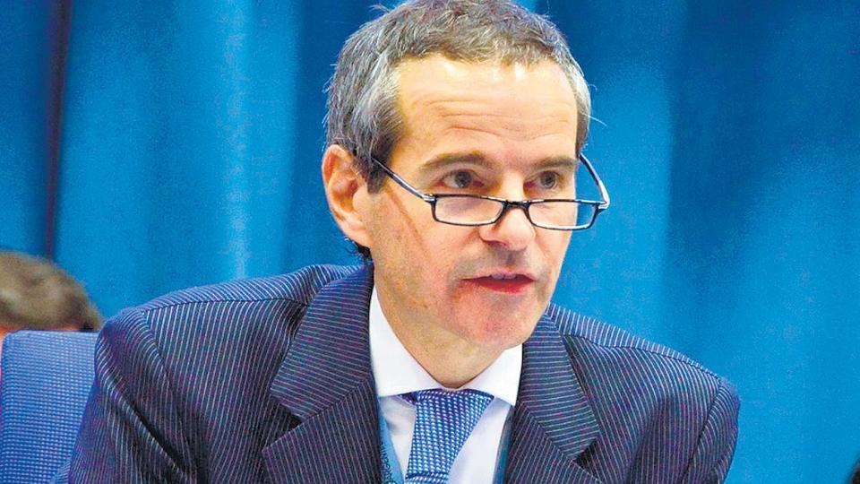 El embajador argentino en Austria, Rafael Grossi, dijo que él pidió el informe.