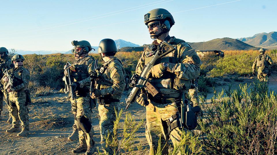 El Gobierno invoca acciones violentas de la fantasmal RAM mapuche para justificar la represión policial.