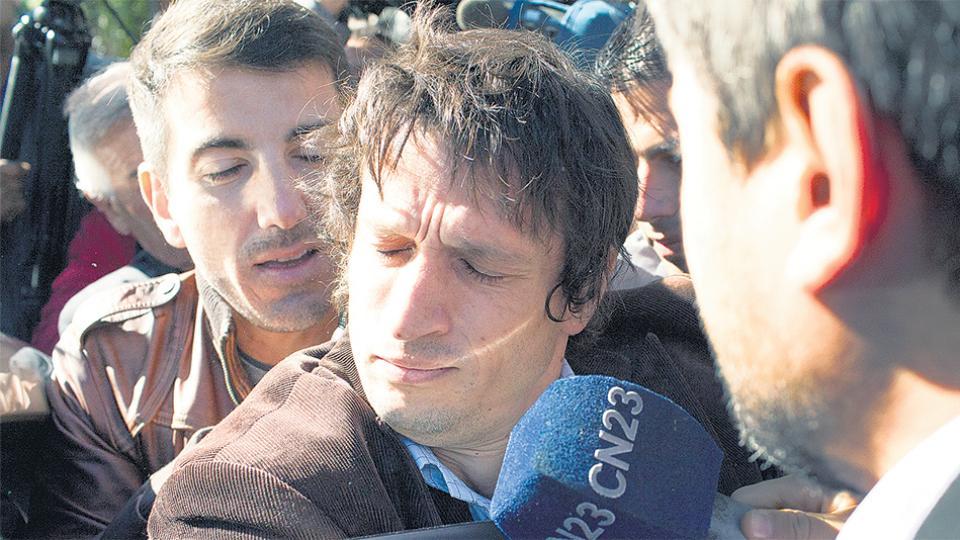 Diego Lagomarsino es el único acusado por el crimen del fiscal.