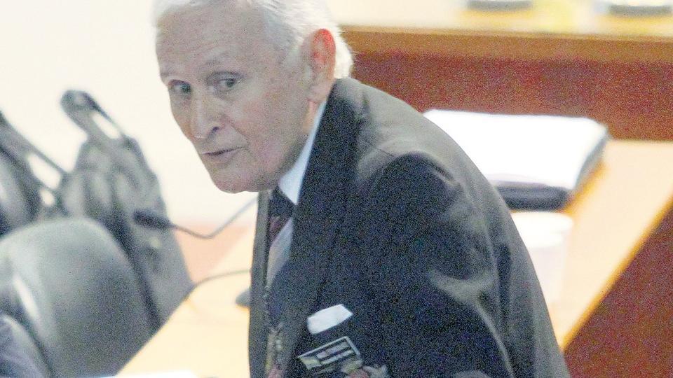 Etchecolatz fue enviado a su casa por el Tribunal Oral en lo Criminal 6.