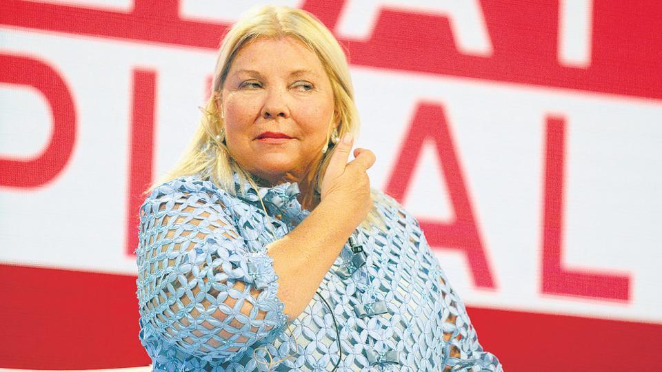 Elisa Carrió volvió a lanzar una amenaza y puso en riesgo la continuidad de la alianza oficialista.