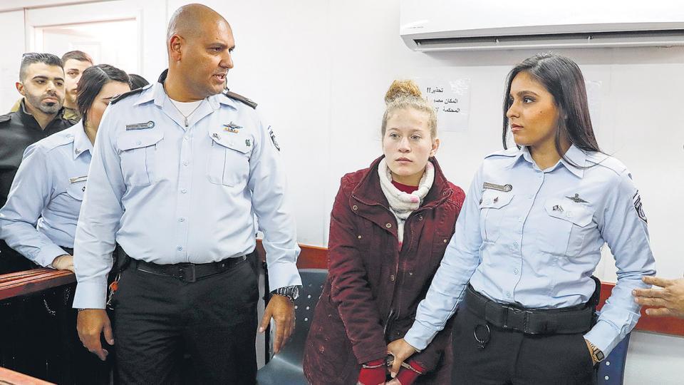 Tamini se presenta ante un juez militar en Jerusalén esta semana.