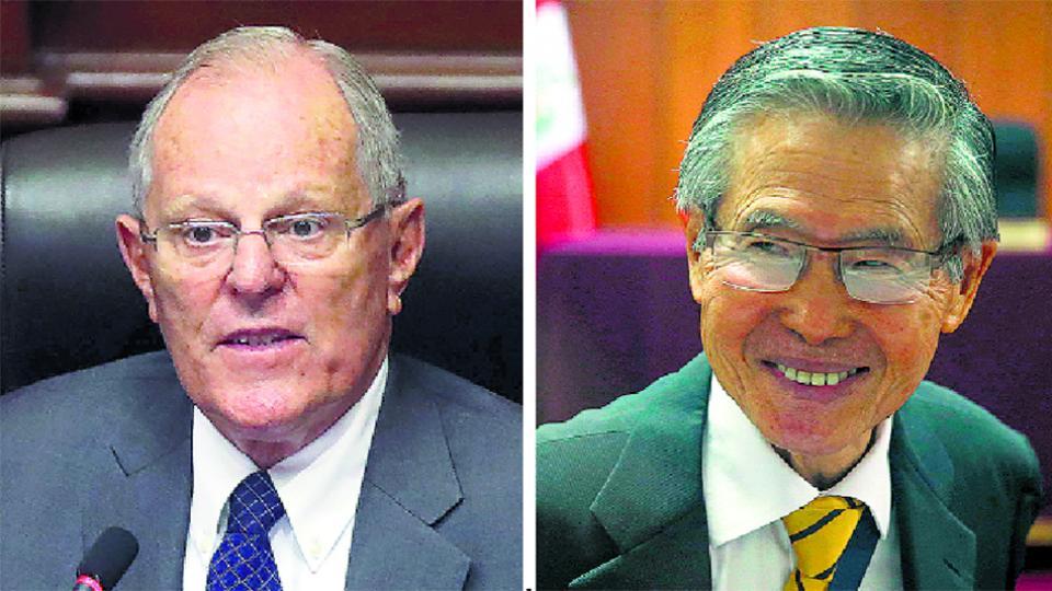 Horas después de evitar su destitución en el Congreso, PPK le otorgó el indulto a Fujimori.