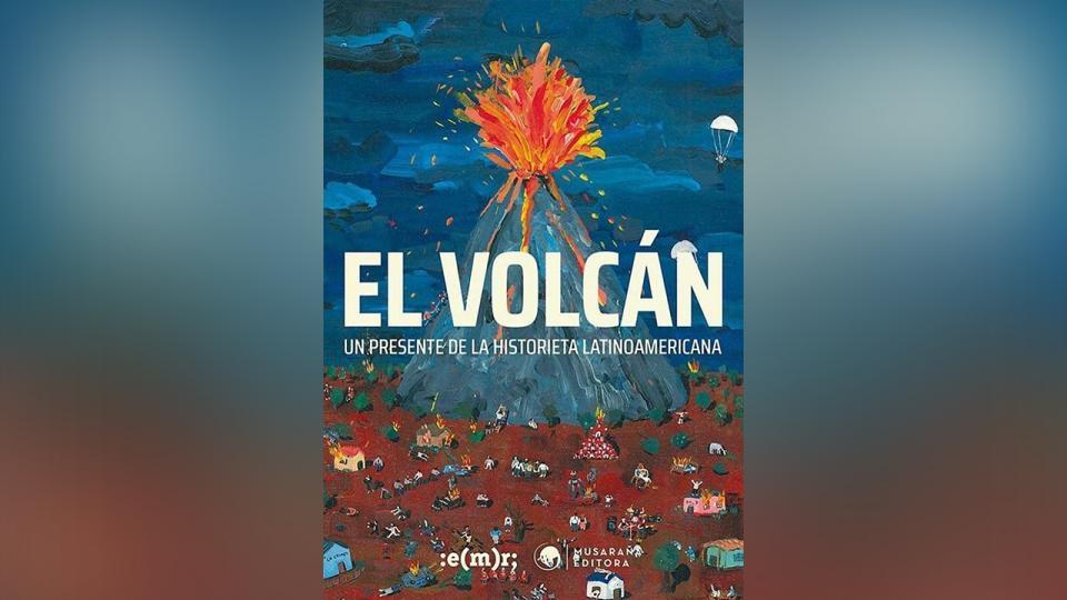 """La portada de """"El Volcán"""", la edición más importante del año."""