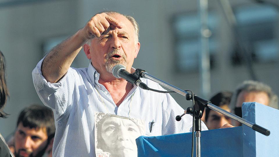 Hugo Yasky apuesta por la unidad del sindicalismo más combativo.