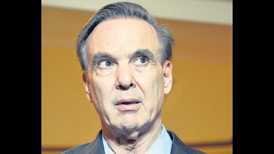 El senador Miguel Angel Pichetto.