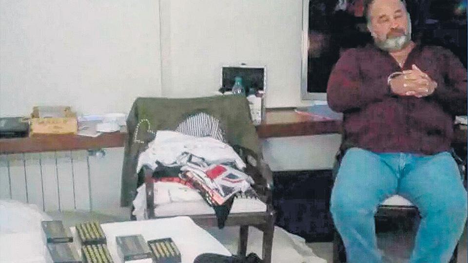 Marcelo Balcedo fue detenido junto a su esposa Paola Fiege en su propiedad en Punta del Este.