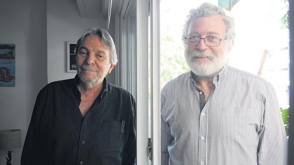 Osvaldo Delgado y Pablo Fridman, compiladores de Indagaciones psicoanalíticas sobre la segregación.