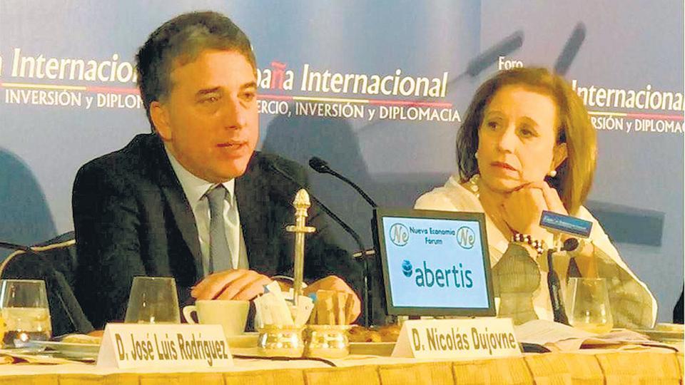 """Nicolás Dujovne, ministro de Hacienda. """"Estamos atravesando los peores meses de inflación"""", admitió, pero prometió que bajará."""