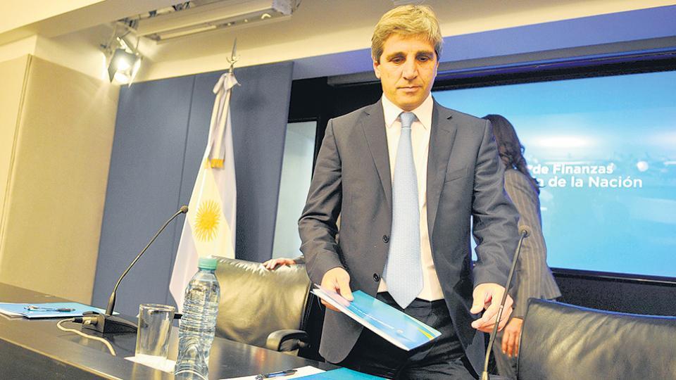 El ministro de Finanzas, Luis Caputo, estuvo a cargo de la negociación con los fondos buitre.