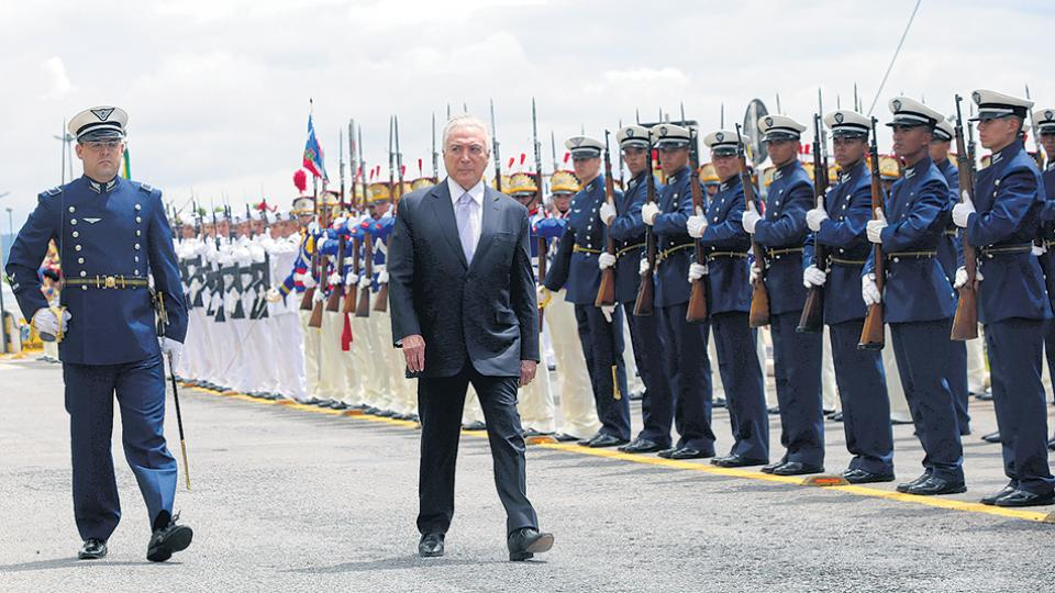 Temer les dio m s poder a los militares brasile os for Como llegar al ministerio del interior