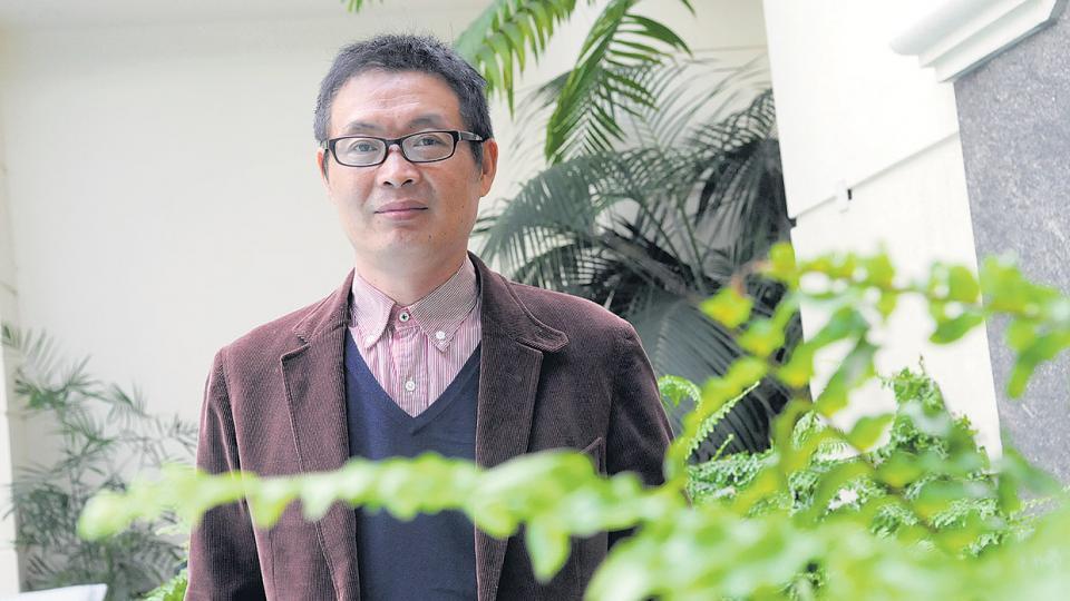 Mai Jia, uno de los más destacados escritores chinos actuales, autor de la novela El don.
