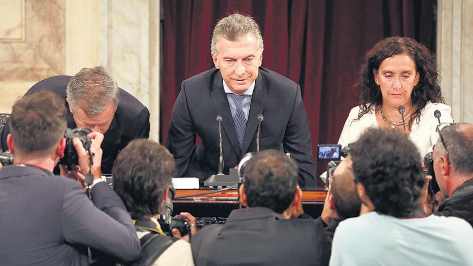 El líder de Cambiemos dio su tercer mensaje ante la Asamblea Legislativa.