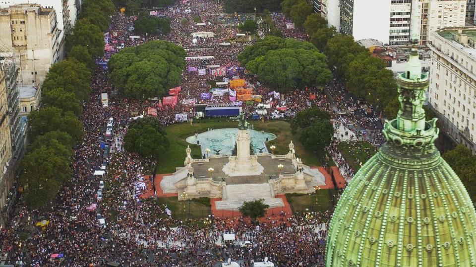 Todas Juntas Cientos De Miles De Mujeres Marcharo Página12