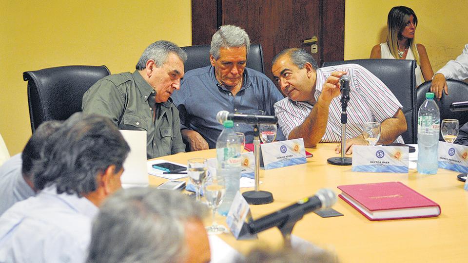 El Consejo Directivo, una imagen que no se veía desde hace tres meses.