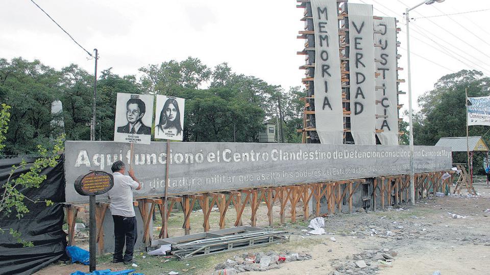 En Campo de Mayo funcionaron cuatro centros clandestinos de detención.