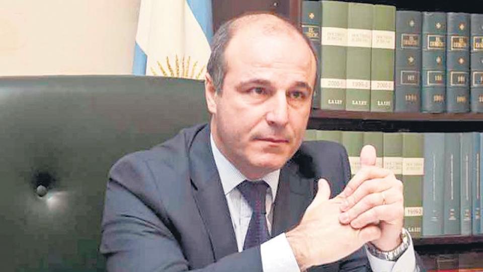 El afortunado juez Alejandro Noceti, uno de los preferidos del Gobierno.