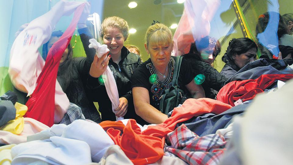 Las importaciones textiles muestran subas de hasta el 73 por ciento en dos años.