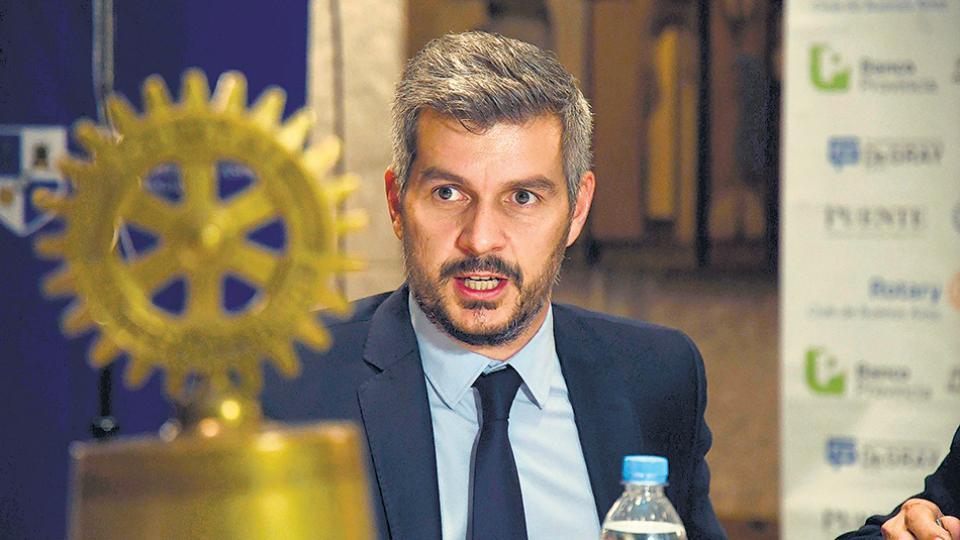 Marcos Peña, jefe de Gabinete. Será el encargado de restablecer la paz con las corporaciones industriales.