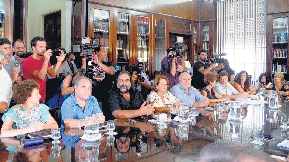 """""""El gobierno está tomando el tema con un criterio economicista"""", dijo Baradel, del Suteba."""
