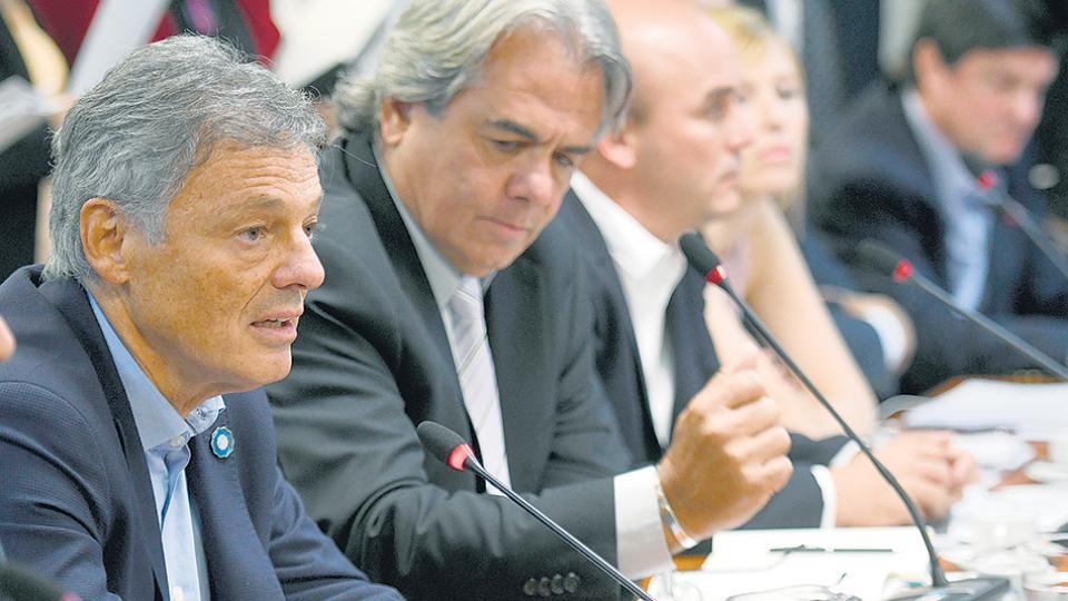 """""""El proyecto es positivo para la inclusión financiera"""", dijo Cabrera ante los diputados."""