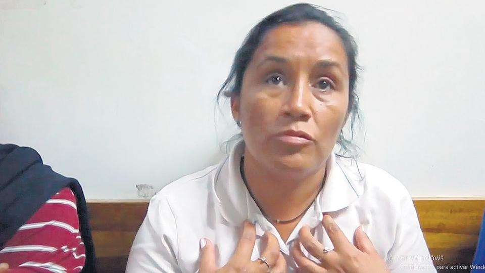 Adelina, la madre de Facundo Agüero, denunció que la policía golpeó salvajemente a su hijo.