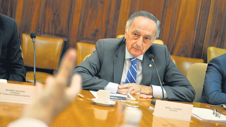 """""""La reunión de la semana pasada fue la primera del año y se produjo una catarsis"""", justificó Acevedo."""