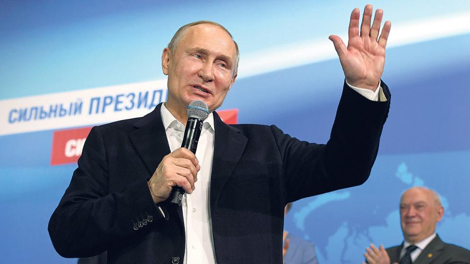 Como pronosticaban los sondeos, Putin consiguió una clara victoria en los comicios de ayer.