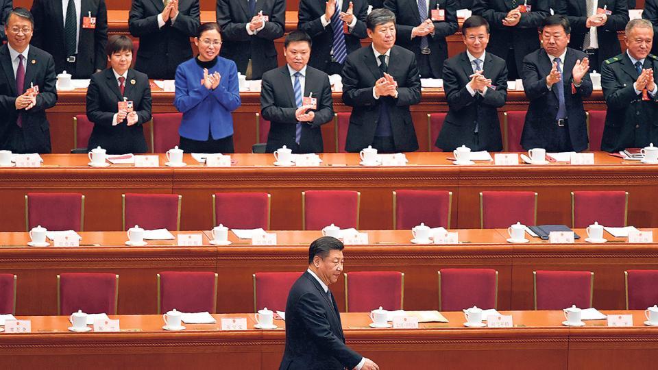 El pensamiento de Xi sobre el socialismo quedó inscripto en la Constitución china.