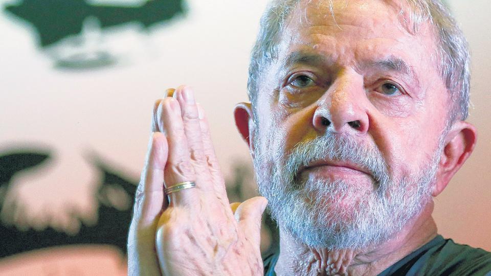 """""""Estoy tranquilo, con la tranquilidad de los inocentes"""" dijo Lula."""