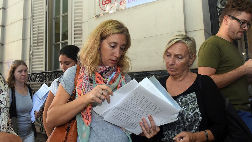 """""""Queremos saber quién está detrás de todo esto"""", exigieron los denunciantes."""