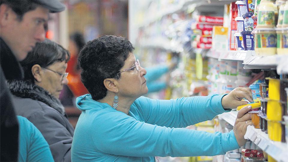 El rubro Alimentos y bebidas figura entre los que registraron más aumentos en el año.