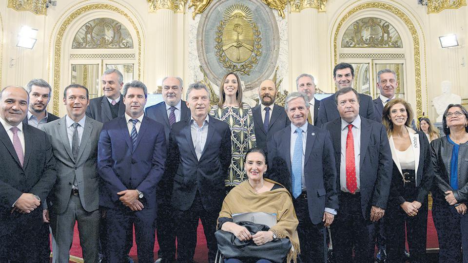 Mauricio Macri y los gobernadores mantienen una relación cada vez más complicada.